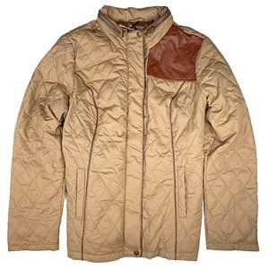 Dennis Basso Packable Quilted Puffer Barn Jacket